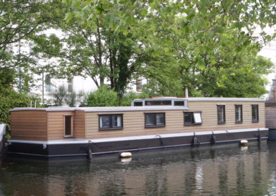 Houseboat valuation survey in Little Venice May 2016