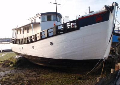 Houseboat on Isle of White
