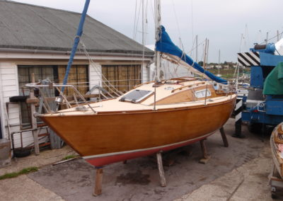 1993 Newton 20 insurance survey at Emsworth in