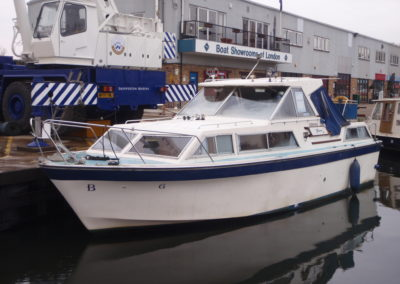 1979 Seamaster 30 surveyed at Shepperton Marina Feb 2017