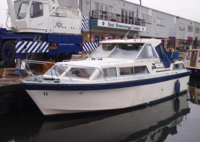 1979 Seamaster 30 surveyed at Shepperton Marina Feb 2017
