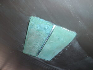 Grounding Plate on a Hallberg Rassy Yacht